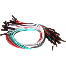 1 pin Dual Female jumper wire 25pcs pack