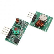 315Mhz RF Transmitter Module + Receiver Module Link
