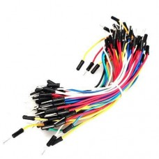 Multicolour Male to Male 65pcs Breadboard Jumper Wires