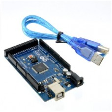 Arduino Mega 2560 r3 MicrController Board Based ATmega2560 With USB Cable
