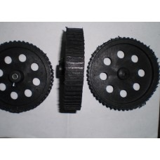 BLACK WHEEL 7X2 CM
