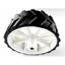 WHITE WHEEL 10X4 6MM
