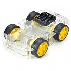 4WD SMART MOTOR ROBO CAR CHASIS