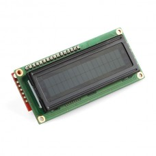 16 X 2 LCD With Backlight - 16 Pin Female Header soldered
