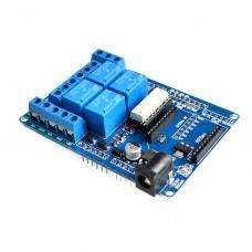 DC 4 Relays shield Arduino UNO/MEGA R3 XBEE Compatible