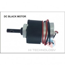 30RPM 12V DC MOTOR WITH BLACK GEARBOX