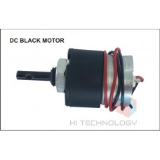 3.5 RPM 12V DC MOTOR WITH BLACK GEARBOX