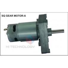 10 RPM SQUARE GEAR MOTOR 8 mm Shaft