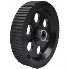 BLACK WHEEL 10X2 CM