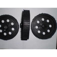 BLACK WHEEL 7X2 CM
