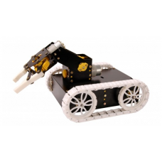 TANK CHASIS WITH ROBOT ARM