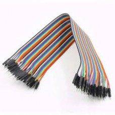 1 pin Male To Male jumper wire 40x1 pcs pack